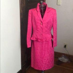 Size 10 Le Suit Suit: Skirt & Jacket Combo